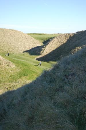Ballybunion Golf Club: some of the sand dunes