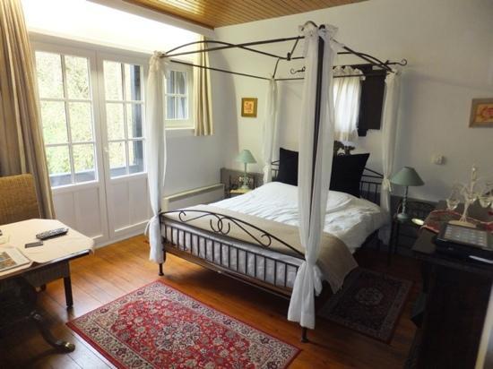 Kasteelhof 't  Hooghe: Onze kamer.