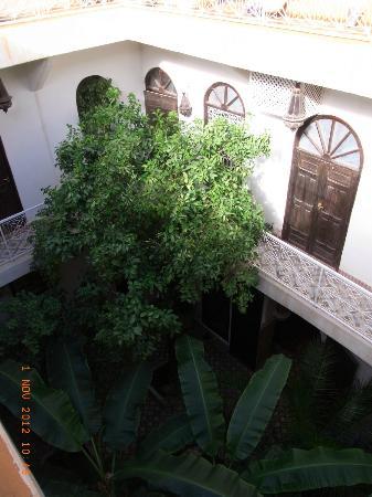Riad Dar Tayib: vue du patio 