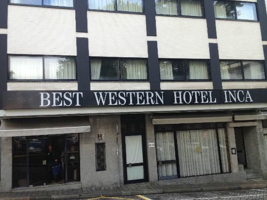 Foto de best western hotel inca oporto entrata hotel for Best western lee s motor inn
