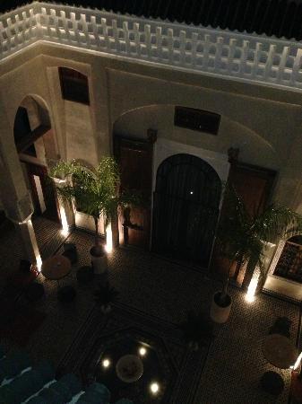 Riad Said: Aussicht Terasse