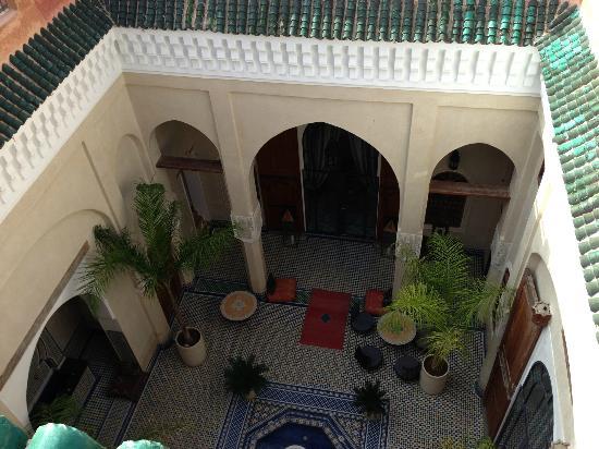 Riad Said: Aussicht von der Terasse