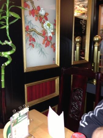 May Lee: dettaglio del ristorante