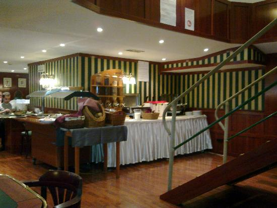 Fortuna Boat Hotel & Restaurant: Breakfastroom