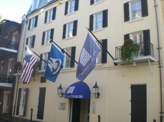 Hotel Le Marais: Hotel