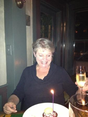 American Seasons: Celebrating Cindy's birthday with friends!