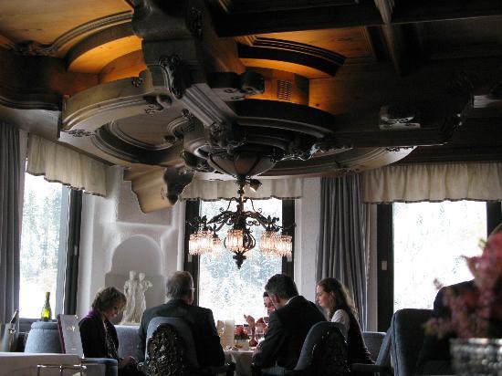 Schwarzwaldstube: lovely ceiling