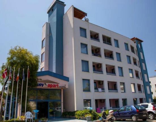 Happy Apart Hotel: otelin dış görünümü