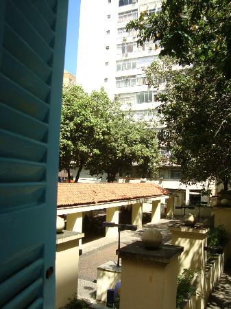 Solar Hostel : vista do quarto