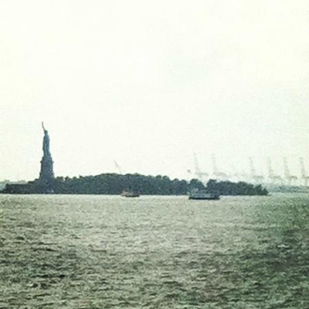 The Wagner at the Battery: Lady Liberty!