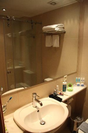 Plaka Hotel: Bathroom