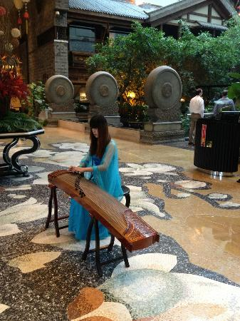 InterContinental Century City Hotel Chengdu: Music in morning