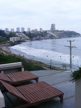 Casadoca Hotel Boutique: vista terraza