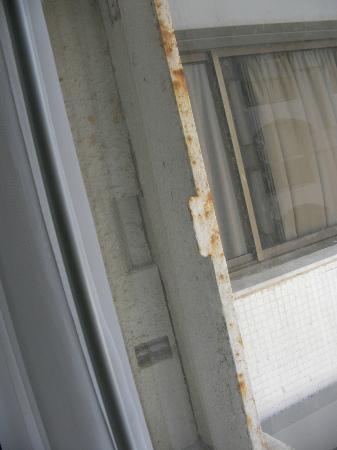 Orchid Tel Aviv: Metal blast door on the window!
