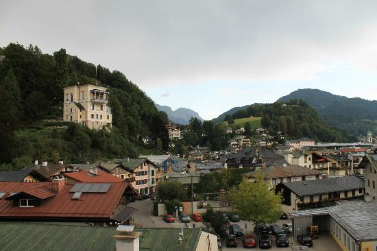 Haus Jermann: View from Room 3 balcony