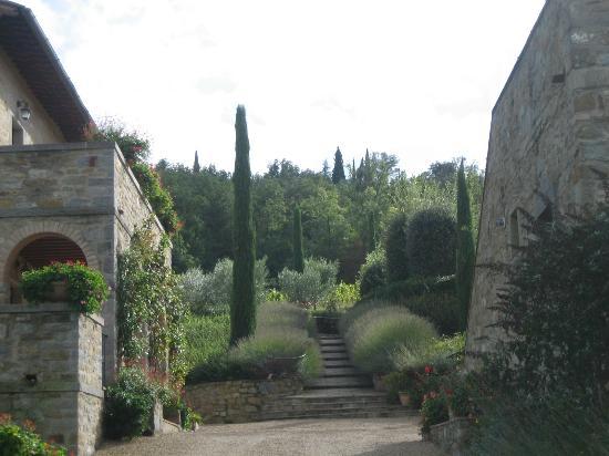 Castiglion Fiorentino, İtalya: Main courtyard