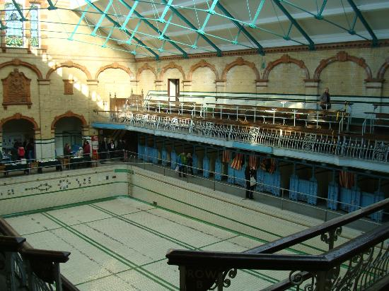 Victoria Baths: Th Gala Pool/First Class Males
