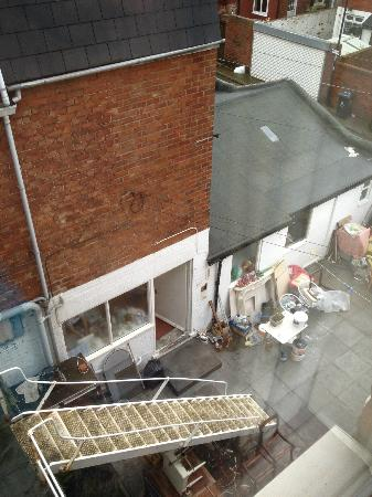 Marlborough Hotel: The view from the room