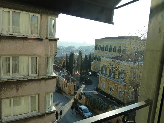 Witt Istanbul Suites: View from Room 22