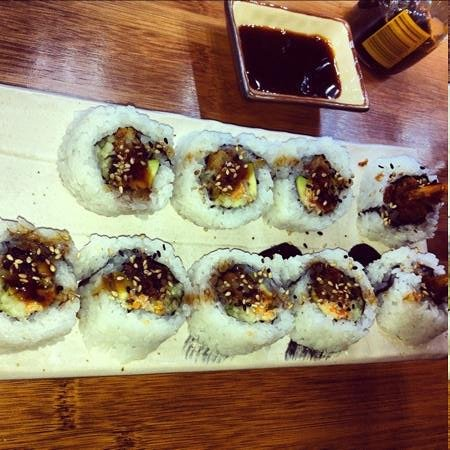Sushi & Roll: Black Tiger Roll