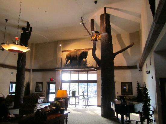 Stoney Creek Hotel & Conference Center - Sioux City: Lobby and sitting area decor