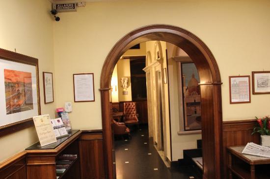 Hotel Regno: lobby