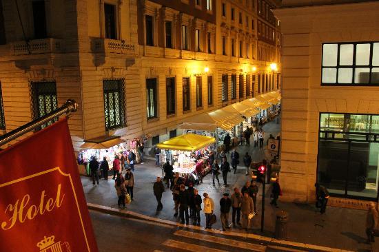 Hotel Regno: view