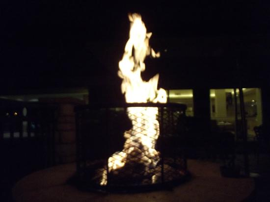 Hilton Garden Inn Fort Collins: Outdoor firepit