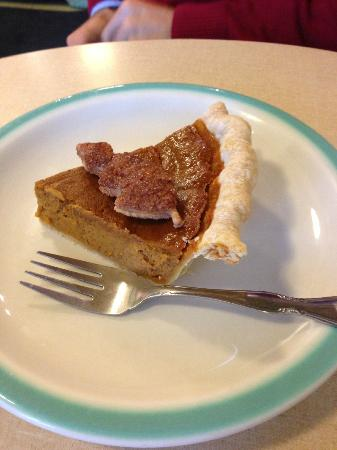 Hoosier Mama Pie Company : Pumpkin pie DELICIOUS