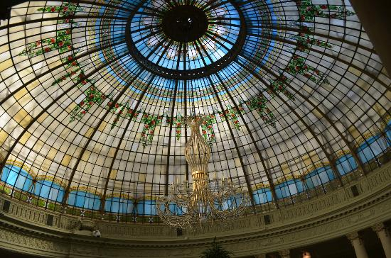 The Westin Palace Madrid: Ceiling in dining area