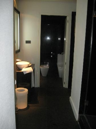 Hotel Palacio de Villapanes: Bathroom area/suite (room #41)