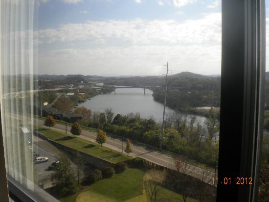 Knoxville Marriott: View from 9th floor room.