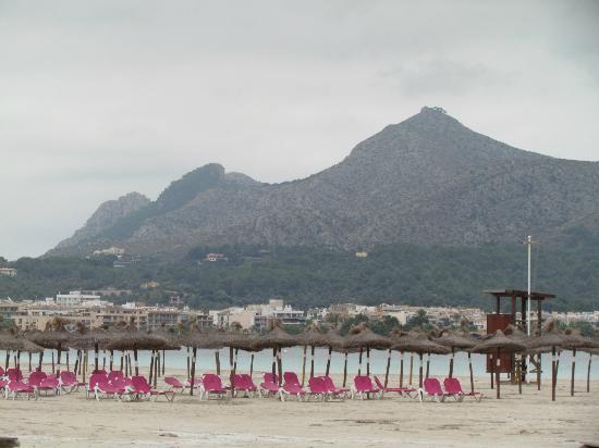 Playa de Aucanada : Bela praia