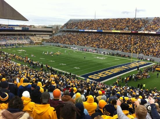 Mountaineer Field: The big game