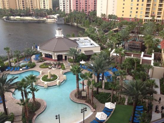View From Our Room Picture Of Wyndham Grand Orlando Resort