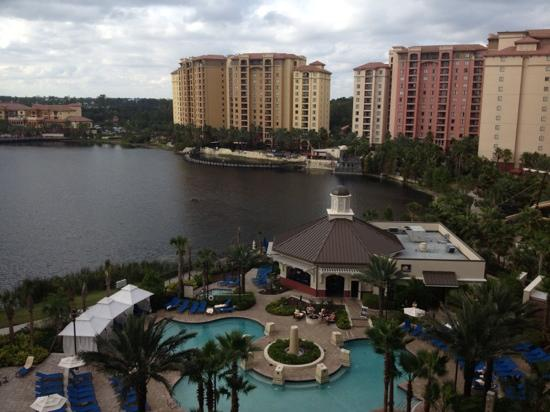Wyndham Grand Orlando Resort Bonnet Creek: Disney view