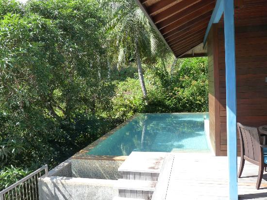 Four Seasons Resort Seychelles: Our plunge pool