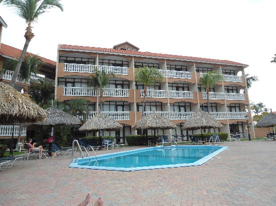 Casa Del Mar Beach Resort: Ambassador Suite pool area