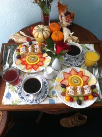 Palace Hotel & Bath House Spa: breakfast 11/3/2012 