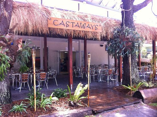 Castaways Moreton Island: Castaways Restaurant and Convenience store