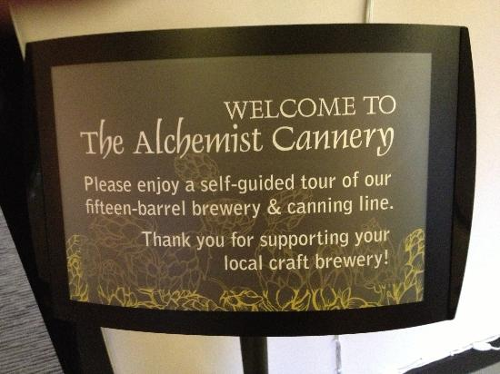 The Alchemist Brewery: Canner