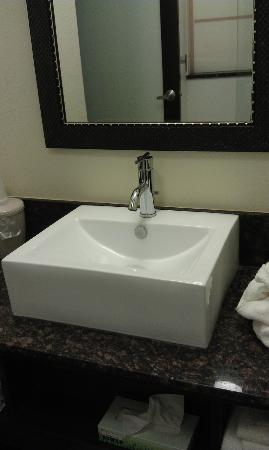 Red Roof Inn Locust Grove: Bathroom Sink