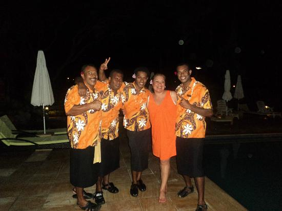 Bedarra Beach Inn: with the staff at Bedarra