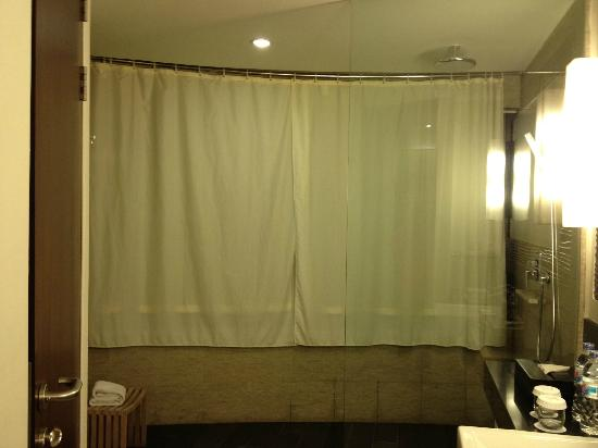 Sensa Hotel: large shower room but lacks character