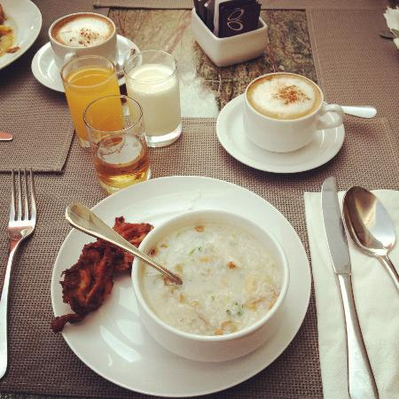 Sensa Hotel : the only good thing at the hotel- breakfast