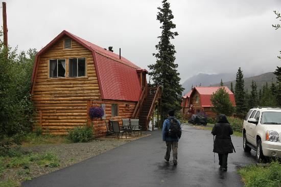 Tundra Rose Guest Cottages: the two bedroom cabin (upstairs)