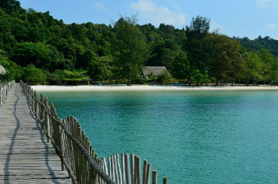 Telunas Beach Resort: Telunas beach
