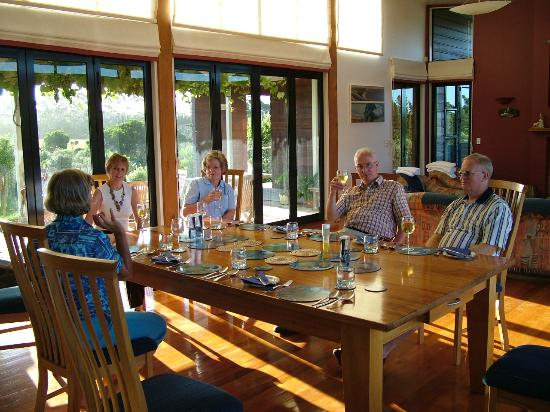 Houhora Lodge & Bed & Breakfast: Dinner at the Lodge