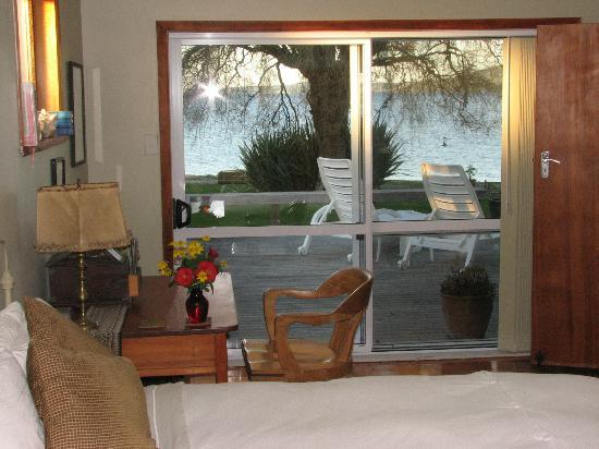 Shula's Lake House: The Tui Room View