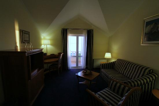 Hotel Laurentum : Living room (suite)